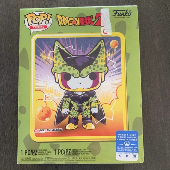 Funko Pop & Tee Dragonball Perfect Cell